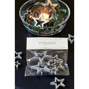 RM dekor Winter sparkle stars 8pcs