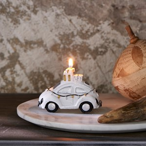 Christmas candle car S