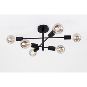 Taklampe Cross 6-arma